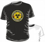 Zombie Outbreak Response Team Funny Novelty Zombie Apocolypse Design for mens or ladyfit t-shirt